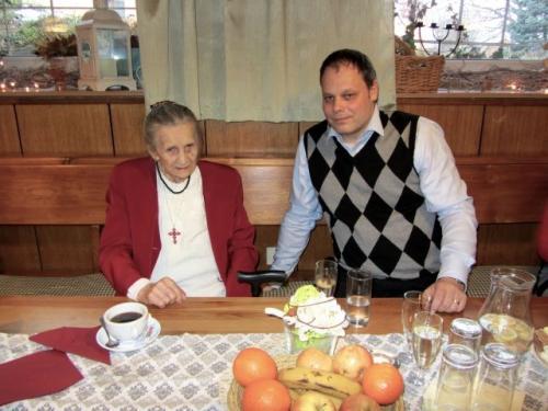 Paní Marie Rosíková - 100. narozeniny