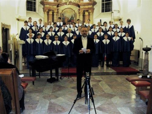 Adventní koncert dětského pěveckého sboru Motýli Šumperk